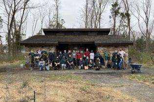 55 Trees Planted at Nockamixon State Park
