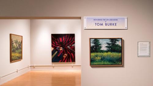 Tom Burke Memorial Exhibit